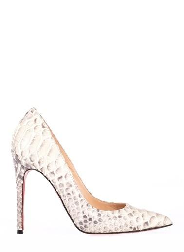 Pier Lucci Topuklu Ayakkabı Bej